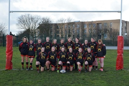 Ellesmere Port U18 Girls through to the RFU Area 5 final..