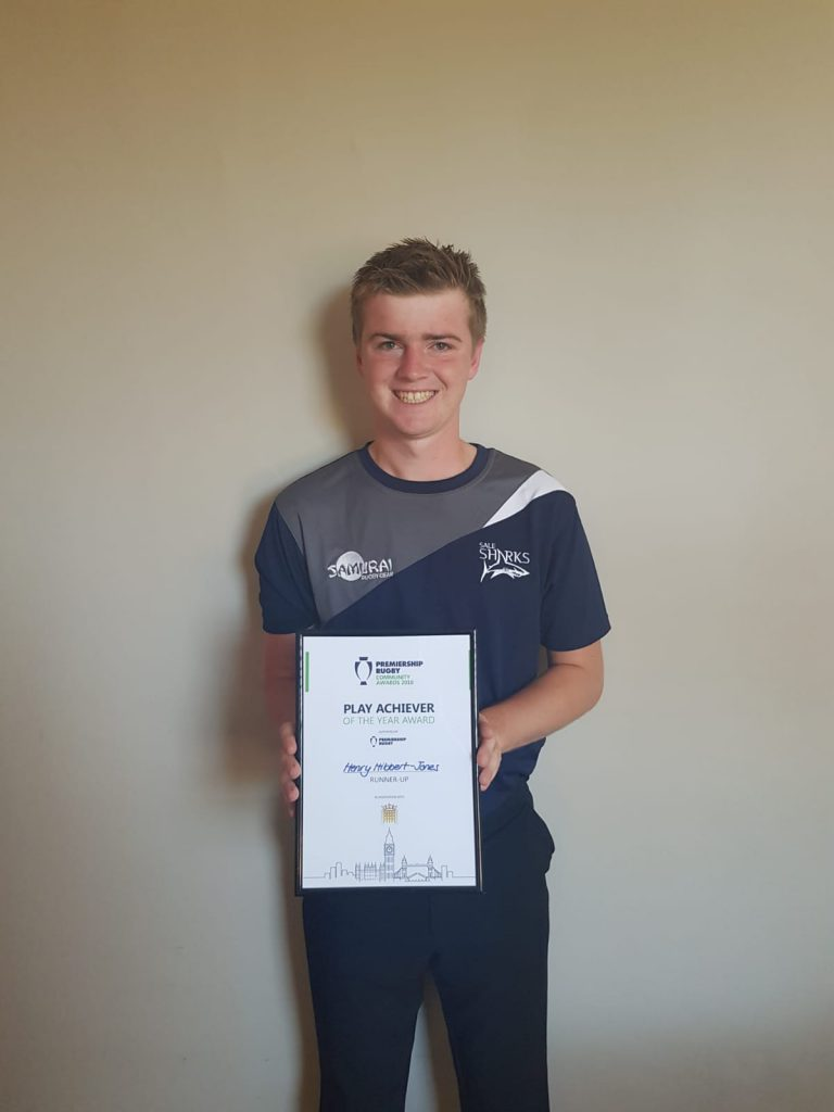 Congratulations to Henry – Hibbert – Jones on being shortlisted for the Play Achiever Award…….