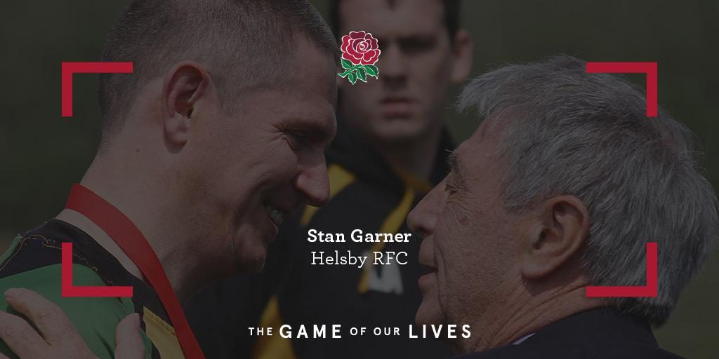 RFU TOUCHLINE – HELSBY IS A RUGBY FAMILY FOR STAN…..