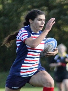 Congratulations to Danae Zamboulis former Birkenhead Panthers/Cheshire player & Oxton Parkonians (coach) ….